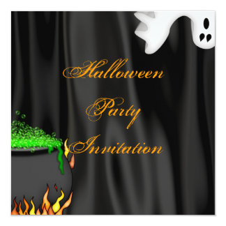 Couldron Party Invitation