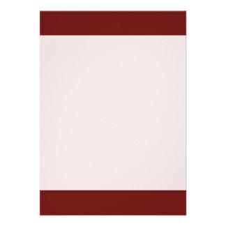 Couleur ambre lumineuse simple carton d'invitation  12,7 cm x 17,78 cm