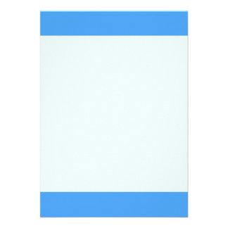 Couleur bleue simple de foudre carton d'invitation  12,7 cm x 17,78 cm