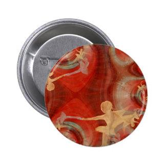 Couleur D une Danse De Ballet 3 Pinback Button