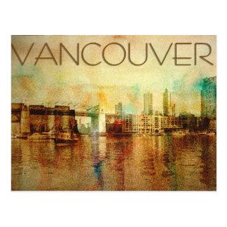Couleur d'eau de Vancouver Cartes Postales