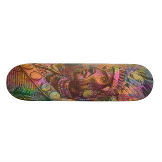 Couleur indienne indigène antique fraîche de clipa skateboard 19,7 cm