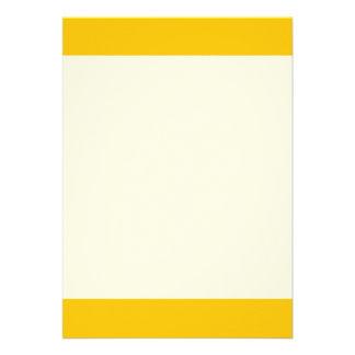 Couleur jaune simple de Baja Carton D'invitation 12,7 Cm X 17,78 Cm