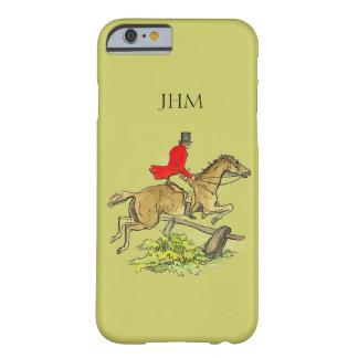 Couleur kaki faite sur commande de cheval de coque iPhone 6 barely there