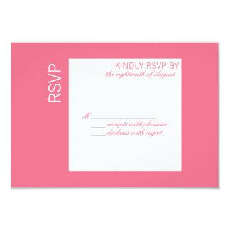 Couleur personnalisable de la carte de l'année carton d'invitation 8,89 cm x 12,70 cm