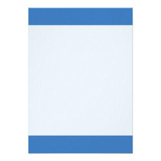 Couleur simple du bleu B5 Carton D'invitation 12,7 Cm X 17,78 Cm
