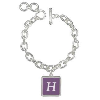 Couleur simple simple lilas française bracelets