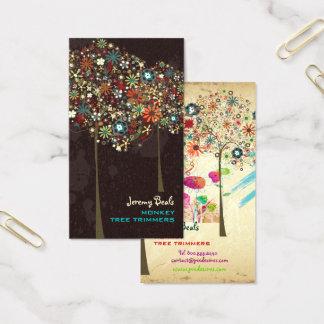 Couleur vintage de l'automne Blooms/DIY de Cartes De Visite
