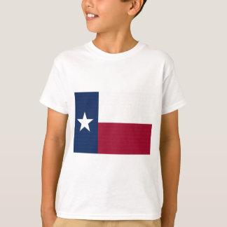 Couleurs bleues blanches rouges d'état solitaire t-shirt