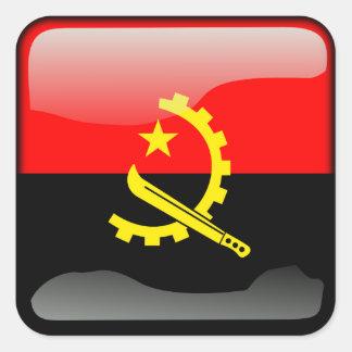 Couleurs de l'Angola Square Sticker