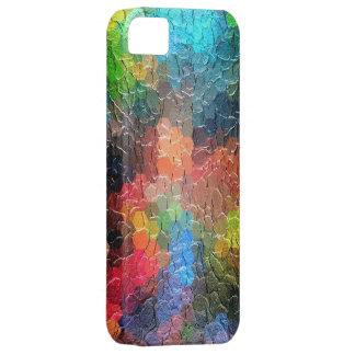 Couleurs dynamiques abstraites de la peinture | coque iPhone 5 Case-Mate