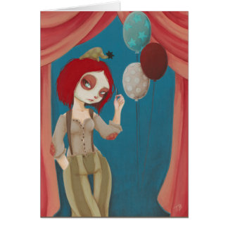 Coulrophobia - Bad clown card