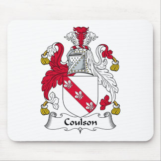 Coulson Family Crest Mouse Pad