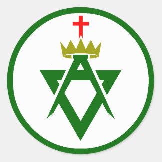 Council of Allied Masonic Degrees plain Sticker