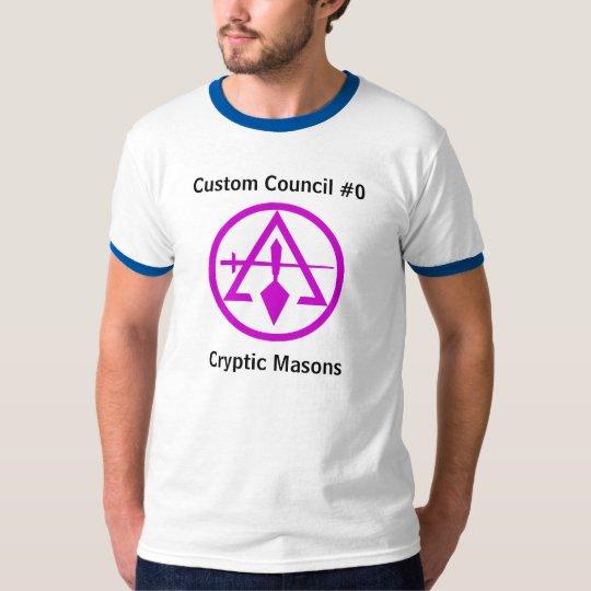 Council of Cryptic Masons T-Shirt