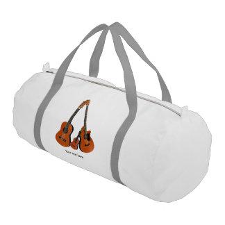 Counrty Folk Music Acoustic Instruments Gym Bag