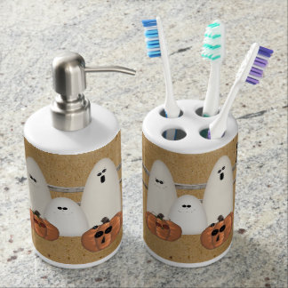Counrty Ghosts Toothbrush/Soap Set