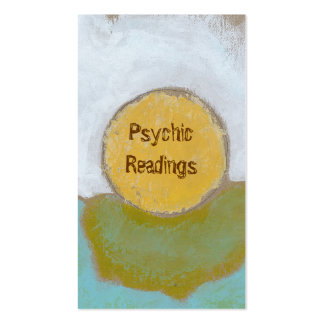 Counseling advice guidance funky unique psychic Double-Sided standard business cards (Pack of 100)