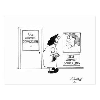 Counseling Cartoon 4967 Postcard