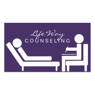Counseling, Life Coach, Therapy, Therapist, Business Cards