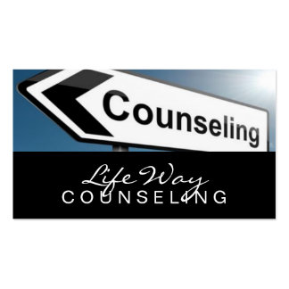 Counseling, Life Coach, Therapy, Therapist, Business Card