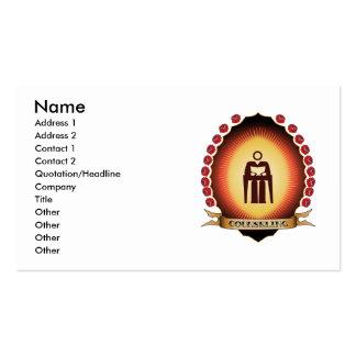 Counseling Mandorla Business Cards