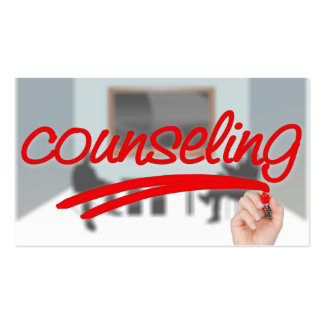 Counseling Pack Of Standard Business Cards