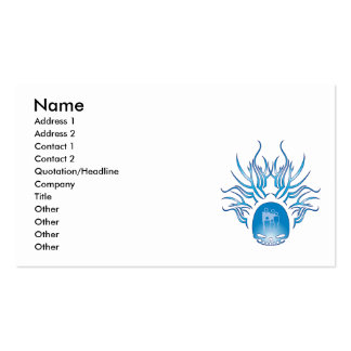 Counseling Skull Business Card Template