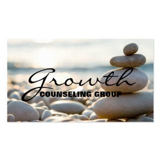 Counseling, Therapist, Spiritual, Life Coach, Business Card Template