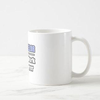 Counselor...Will Work For Beer Coffee Mug
