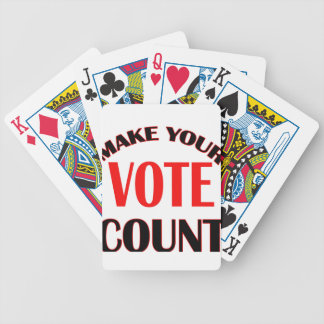 count bicycle playing cards