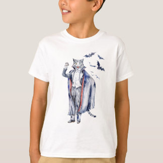 Count Catula Vampire Cat T-Shirt