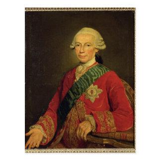 Count Claude-Louis-Robert de Saint-Germain  1777 Postcard