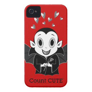 Count Cute® BlackBerry Bold Case-Mate Barely There Case-Mate iPhone 4 Cases