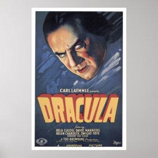 Count Dracula- Bela Lugosi 1931 Poster