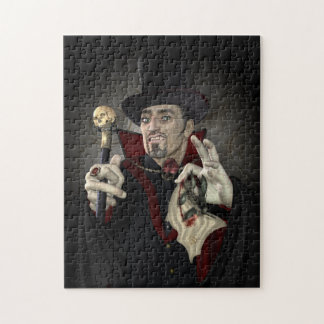Count Dracula Design Jigsaw Puzzle