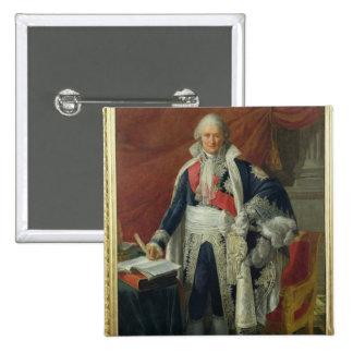Count Jean-Etienne-Marie Portalis  1806 2 Inch Square Button