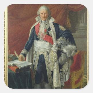 Count Jean-Etienne-Marie Portalis  1806 Square Sticker
