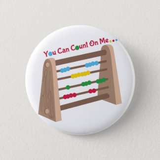 Count On Me 2 Inch Round Button