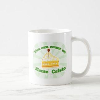 Count on Monte Cristo Coffee Mug