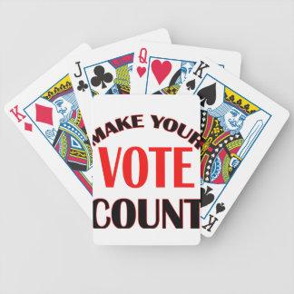 count poker deck