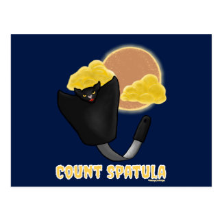 Count Spatula Postcard