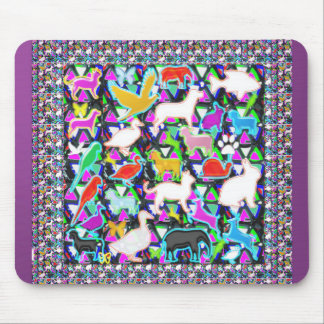 COUNT the birds animals butterfCli3y Mouse Pad