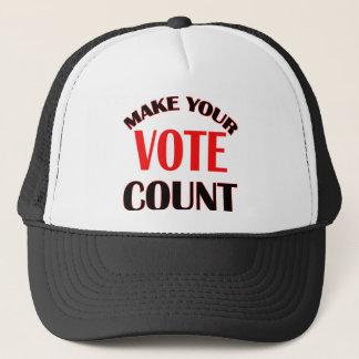 count trucker hat