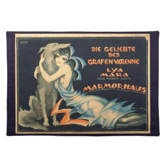 Count Varenne's Lover Fabric Placemat