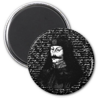 Count Vlad Dracula 2 Inch Round Magnet