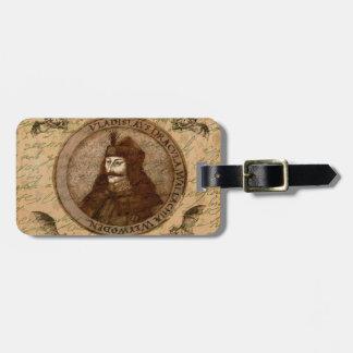 Count Vlad Dracula Bag Tag