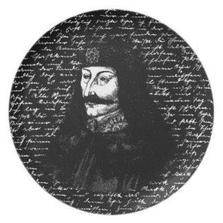 Count Vlad Dracula Dinner Plate