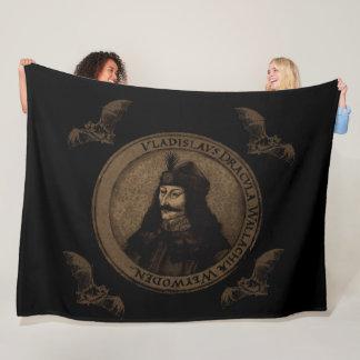 Count Vlad Dracula Fleece Blanket