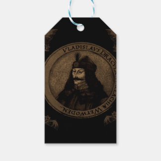Count Vlad Dracula Gift Tags